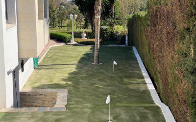 Practica el golf en tu propia casa